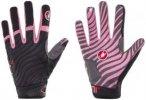 Castelli CW 6.0 Cross Gloves Men black/pink M 2017 Accessoires, Gr. M