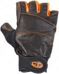 Climbing Technology Progrip Ferrata Kurzfinger-Handschuhe schwarz M 2021 Lederha