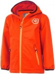 Color Kids Barkin Softshell Jacket Kinder fiery coral 104 2017 Softshelljacken,