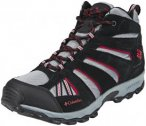 Columbia North Plains Mid Waterproof Shoes Youth grey ash/mountain red US 4 (EU