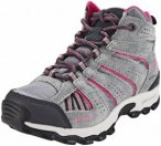 Columbia North Plains Mid Waterproof Shoes Youth grey ash/ultra pink US 1 (EU 32