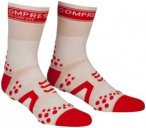 Compressport Racing V2 Bike High Socks white/red T1 | EU 34-36 2017 Socken, Gr.