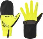 Craft Hybrid Weather Gloves Unisex Flumino/Black L 2018 Accessoires, Gr. L