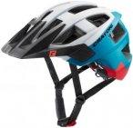 Cratoni Allset Helmet white-blue-red matt S/M | 54-58cm 2019 Fahrradhelme, Gr. S
