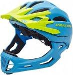 Cratoni C-Maniac Fullface Helmet blue-lime matt L/XL | 58-61cm 2019 Fahrradhelme