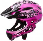 Cratoni C-Maniac Pro MTB Helm leo/pink gloss M/L | 54-58cm 2020 Fahrradhelme, Gr