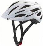 Cratoni Pacer Helmet white matt S/M | 54-58cm 2019 Fahrradhelme, Gr. S/M | 54-58