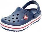 Crocs Crocband Clogs Kinder navy/red EU 25-26 2020 Freizeit Sandalen, Gr. EU 25-