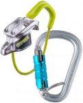 Edelrid Mega Jul Sport Belay Kit with Steel Triple icemint  2018 Sicherungs- & A
