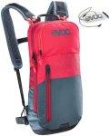EVOC CC Backpack 6l + Bladder 2l red-slate  2019 Trinkrucksäcke