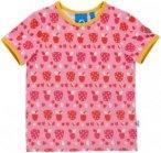 Finkid Tuumi T-Shirt SS Kids strawberry/freesia 80-90 2017 Kurzarmshirts, Gr. 80