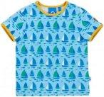 Finkid Tuumi T-Shirt SS Kids water/freesia 90-100 2017 Kurzarmshirts, Gr. 90-100
