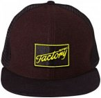FOCUS Factory Spec Cap Earth Brown Melange/Fluo Yellow One Size 2017 Accessoires