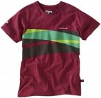 FOCUS Jam Tee Men marsala melange/green S 2017 Streetwear, Gr. S