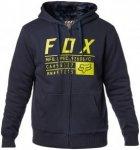 Fox Compliance Sasquatch Hoody Men Midnight S 2017 Streetwear, Gr. S
