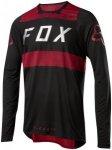 Fox Flexair Long Sleeve Jersey Men red/black S 2018 Fahrradtrikots, Gr. S
