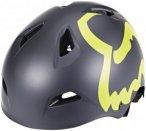 Fox Flight Eyecon Hardshell Helmet Men Black/Yellow S | 53-54cm 2018 Fahrradhelm