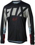 Fox Indicator Drafter Long Sleeve Jersey Men black S 2018 Fahrradtrikots, Gr. S