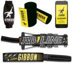 GIBBON Jibline Treewear Set schwarz  2021 Slackline Sets