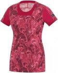 GORE RUNNING WEAR AIR PRINT Shirt Damen jazzy pink 34 2015 Laufshirts, Gr. 34