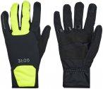 GORE WEAR M Gore Windstopper Thermo Handschuhe schwarz/gelb 9 2021 Accessoires,