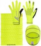 GripGrab Running Essentials Hi-Vis Multipack Fluo Yellow XL 2017 Triathlon Zubeh
