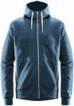 Haglöfs Norbo Hood Men blue ink S 2017 Sweatshirts & Trainingsjacken, Gr. S