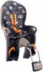 Hamax Kiss Kindersitz Rahmenrohr grau/orange muser  2018 Kindersitz-Systeme