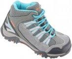 Hi-Tec Forza Mid WP Shoes Junior Cool Grey/Curacao Blue/Papaya Punch UK 1 | 33 2