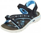 Hi-Tec Soul-Riderz Life Strap Sandals Women Black/Forget Me Not 37 2017 Freizeit