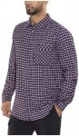 Jack Wolfskin Fraser Island Shirt Men night blue checks S 2017 Sportshirts, Gr.