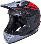 Kali Zoka Helm Herren black/red/grey 56-59cm 2020 Fahrradhelme, Gr. 56-59cm