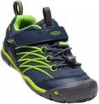 Keen Chandler CNX WP Schuhe Kinder dress blues/greenery US 11 | EU 29 2020 Trekk
