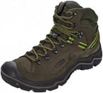 Keen Galleo Mid WP Shoes Herren black/greenery US 10,5 | EU 44 2019 Trekking- &