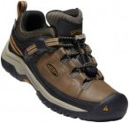 Keen Targhee WP Shoes Kinder dark earth/golden brown US 5 | EU 37 2018 Trekking-