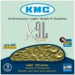 KMC X-9 SL Kette gold  2018 Ketten
