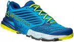 La Sportiva Akasha Running Shoes Men Blue/Sulphur 41 2017 Trail Running Schuhe,