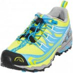 La Sportiva Falkon Low Shoes Kids Sulphur/Blue EU 29 2018 Trail Running Schuhe,