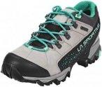 La Sportiva Genesis GTX Shoes Women Grey/Mint 38 2018 Trekking- & Wanderschuhe,