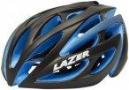 Lazer O2 DLX Helmet black/blue eps S | 52-56cm 2018 Fahrradhelme, Gr. S | 52-56c