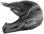 Leatt Brace DBX 6.0 Carbon Helmet black/white S   55-56cm 2017 Fahrradhelme, Gr.