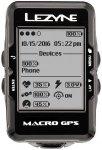 Lezyne Macro GPS Fahrradcomputer mit Herzfrequenzmessgerät und Speed Cadence Se