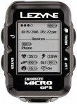 Lezyne Micro GPS Fahrradcomputer mit Herzfrequenzmessgerät und Speed Cadence Se