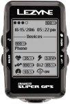 Lezyne Super GPS Fahrradcomputer mit Herzfrequenzmessgerät schwarz  2018 Comput
