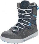 Lowa Raik GTX Mid Shoes Kids anthrazit/blau EU 32 2018 Winterstiefel, Gr. EU 32