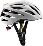Mavic Aksium Elite Helmet White/Black L | 57-61cm 2019 Fahrradhelme, Gr. L | 57-