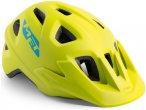 MET Eldar Helm Kinder lime green 52-57cm 2020 Fahrradhelme, Gr. 52-57cm