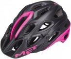 MET Lupo Helmet black/fuchsia 59-62 cm 2016 Fahrradhelme, Gr. 59-62 cm
