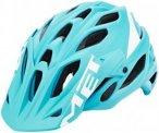 MET Parabellum Helmet emerald green/white 59-62cm 2017 Fahrradhelme, Gr. 59-62cm