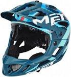 MET Parachute Helm blue/cyan S   51-56cm 2019 Fahrradhelme, Gr. S   51-56cm